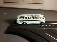 working minic motorway light blue coach, with new tyres fitted,track tested