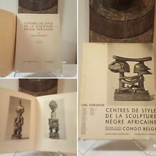 6-DAY SALE - WAS $$$ Tribal African Art book Kjersmeier 1937 Mask Statue