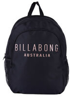 NEW + TAG BILLABONG INFINITY BACKPACK SCHOOL GYM BAG WOMENS GIRLS LARGE BLACK