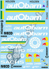 1/10 Touring Car decalcomania Sticker Set V8-autobarn LOWNDES RACING-XRAY Schumacher