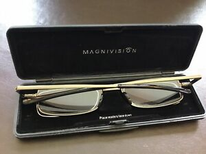 FOSTER GRANT FOLD FLAT MAGNIVISION  GAVIN Reading Glasses 2.00 Retail £30.00