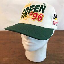 NASCAR CAT David Green #96 Racing Beige Adjustable Cap Hat Mens (CH18)