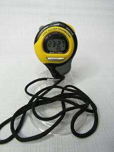 1/100 Second Stopwatch Water Resistant to 50 Meters