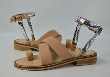 ASOS Sandalen Gr.  UK 4 EU 37 Sommerschuhe, Leder, Damen Schuhe (R3) 4/17 M2