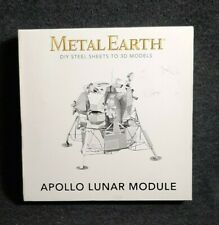 Metal Earth Apollo Lunar Module Model Diy Steel Sheet 3D Model