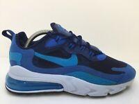 Nike Air Max 270 React Blue Void AO4971-400 Textile Trainer Men Size UK 7 Eur 41