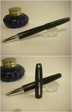 Stilografica Hero Cigar Matte Black Fountain Pen - Stylo cover-crown Nib F