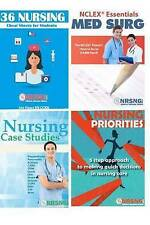 Nursing Student Book Collection (Cheat Sheet, Priorities, MedSurg, Case Studies)