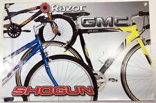 Bike Bicycle Advertisement Store Sign Razor Gmc Denali Shogun Bikes