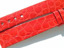 CHOPARD CROCO BAND STRAP RED 14 MM 70/105 NEW C14-3 -70%