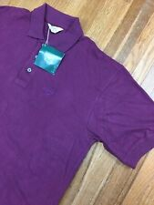 Vintage 90s Reebok Mens Polo Golf Shirt Sz Large S/S New Old Stock 1995
