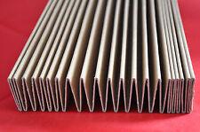 Akkordeon Ersatzteile * Balgkarton  Länge: 72 cm * 21 Falten * 32mm Faltentiefe