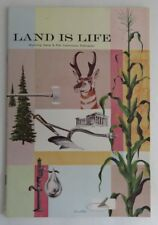 LAND IS LIFE WYOMING FISH AND GAME COMMISSION BOOKLET      (INV3463)