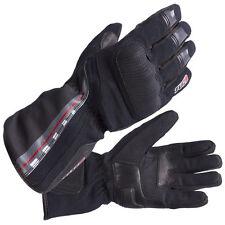 Tuzo Motorcycle Motorbike Winter Warm Waterproof Gloves Black Medium