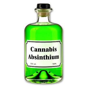 Cannabis Absinthium 55% - 0,5l - Apothekerflasche