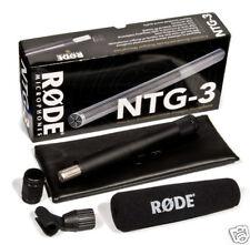 Rode NTG-3 Precision RF-Biased Shotgun Microphone