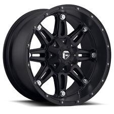 "(5) 18"" +1 Fuel Hostage D531 Black Wheels Rims 5x127 Jeep Wrangler JK Unlimited"