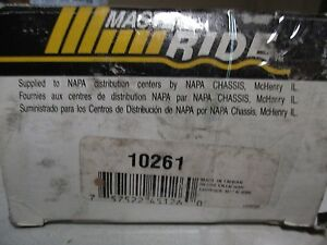 NAPA MASTER RIDE 10261 UPPER BALL JOINT