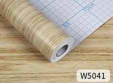 AU SELLER 45cmx10m Roll Wood Pattern Vinyl Furniture Wall Paper Sticker W5041