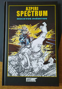 Alfonso AZPIRI SPECTRUM Bocetos INÉDITOS Libro Tapa Dura NOVEDAD MSX-AMSTRAD