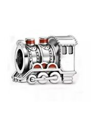 925 STERLING SILVER HOGWARTS EXPRESS TRAIN HARRY POTTER CHARM & POUCH
