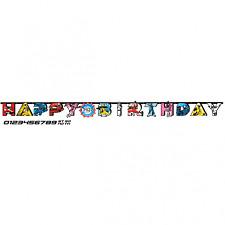 Power Rangers Ninja Steel Jumbo Add an Age Birthday Banner