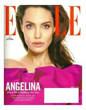 ELLE Mag~ANGELINA JOLIE: Whats She's Fighting for Now + BLACK PANTHER~March 2018