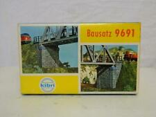 Kibri HO Gauge Plastic Model Kit Bridge Pillars Box 9691