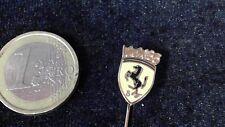 Ferrari Anstecknadel Logo gelb kein Pin Badge Stier Emblem alt edel rar IAA 1985