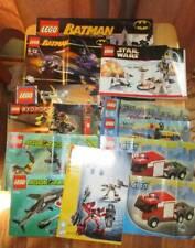 Lego Instruction Manuals lot 12 City Batman Aqua Raiders Designer Star Wars +