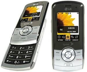 LG LX370  Mobile Slide Phone - Sprint Network