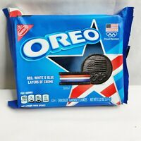 2 Pack NEW Limited Edition Red White & Blue 2020 Tokyo Olympic Oreo Cookies