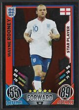 #50 TOPPS - MATCH ATTAX CARD GAME  - ENGLAND 2012 - WAYNE ROONEY - ENGLAND STAR