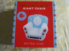 PRIMARK INFLATABLE GIANT CHAIR RETRO CAR DESIGN NEW BNIB GIFT PRESENT BOXED