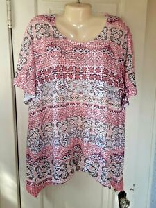 Catherines Woman's Embellished Top Size 2X