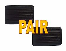Brake Pedal Pads (SET) Rubber Replacement Pad for International Trucks - PAIR