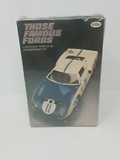 New 1/25 TESTORS FORD GT 40 THOSE FAMOUS FORDS # 104 Model Kit Sealed