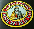 Oshkosh defunct Brewery Beer sign