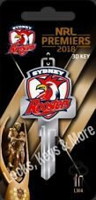 Sydney Roosters 2018 Premiership Limited Edition House Key Blank-