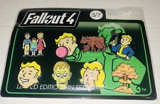 FALLOUT 3 4 EMOJI LIMITED EDITION COLLECTABLE PIN SET SERIES # 3 OF 7 NEW/SEALED
