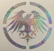 "Never Summer Glitter Hologram 5"" Snowboard Custom Vinyl Decal Sticker"