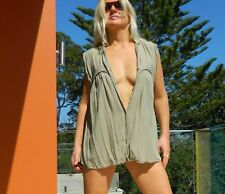 VINTAGE Anouck  by Magali Pascal Resort Chic Beach Cover-upRetro Top