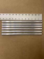 """6pieces 1/2"""" HEX ALUMINUM 12"""" Long Solid Bar 6061 T6511 New"""