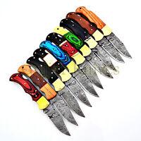 Damastmesser, Damast Klappmesser,Taschenmesser,Jagdmesser,schönes Messer