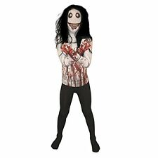 Jeff the Killer Kids Monster Morphsuit Fancy Dress Costume - size Large 4 1-4 6