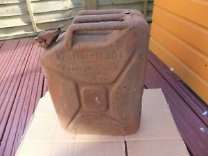 WW2 Wehrmacht jerry can  1943, no 549