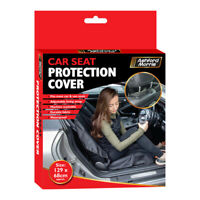 Waterproof Car Seat after Gym Cover Durable Adjustable Machine Washable Black