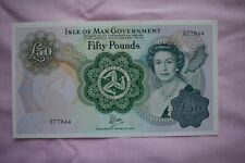More details for isle of man government fifty £50 pound banknote 077944 very nice condition note!