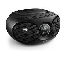 Philips AZ215B/05 Boombox With Dynamic Boost CD Playback & LCD Display Black