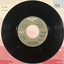 BEATLES. 45. Canada. SHE'S A WOMAN. Capitol. STAR-LINE. Olive. *Mono* X6286. EX.